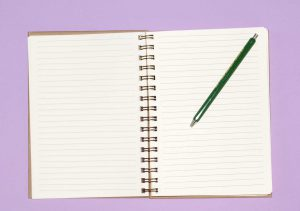kreative Projekte Notizbuch
