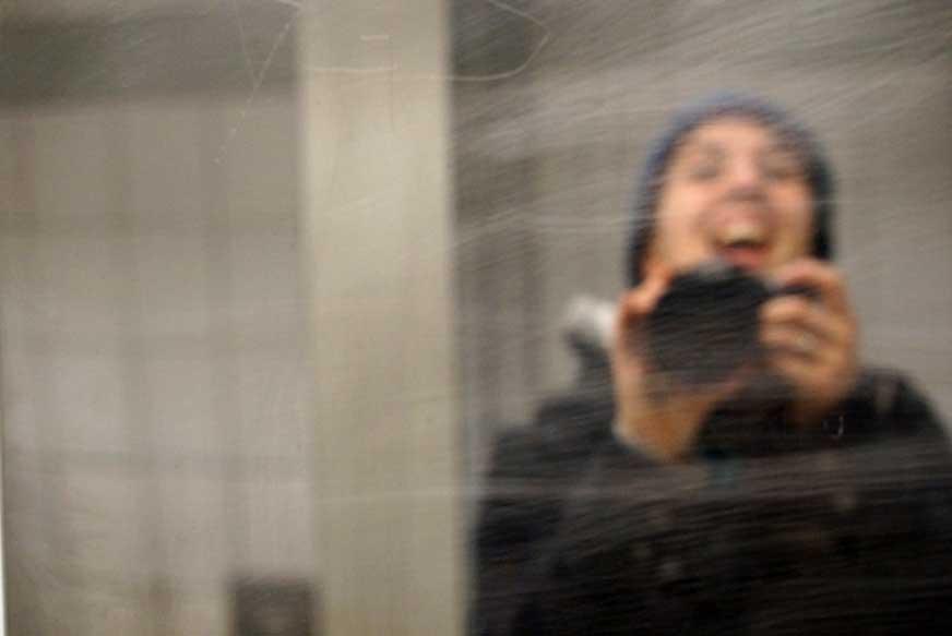 Spiegelbild Selfies machen - Projekt Blogfotos - kreativsein.blog