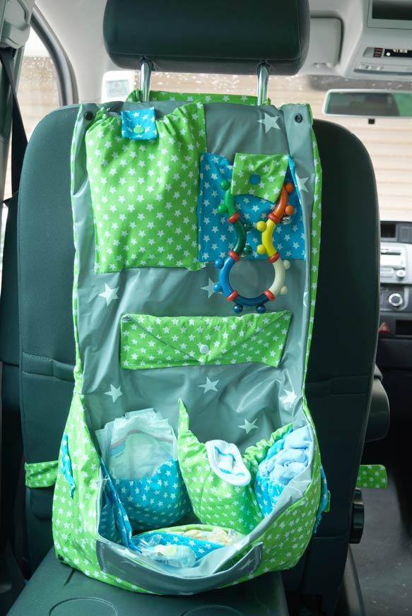 Auto Rücksitz Wickeltasche