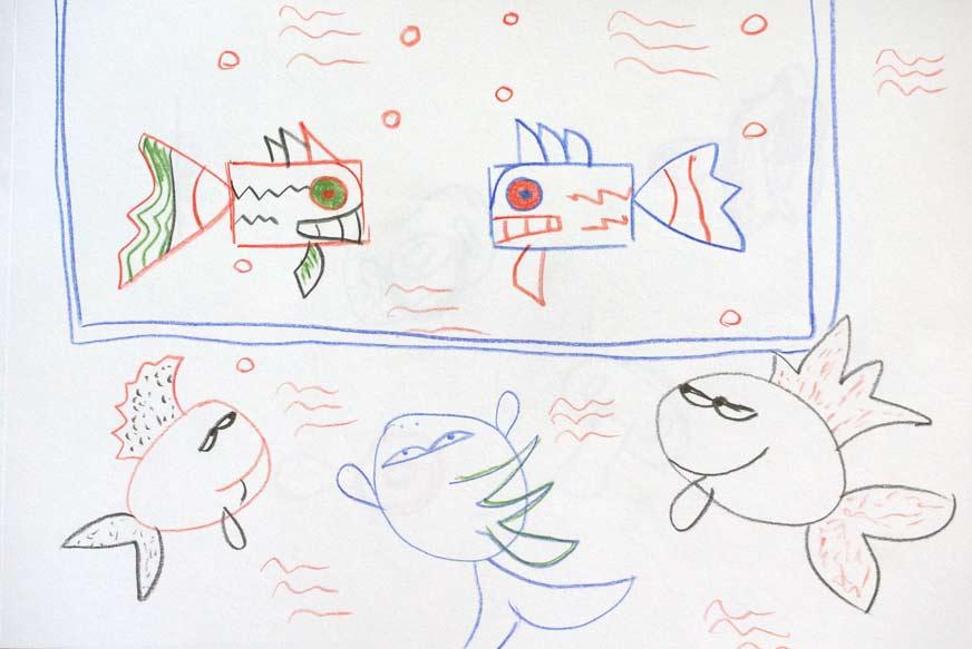 5 kleine Fische
