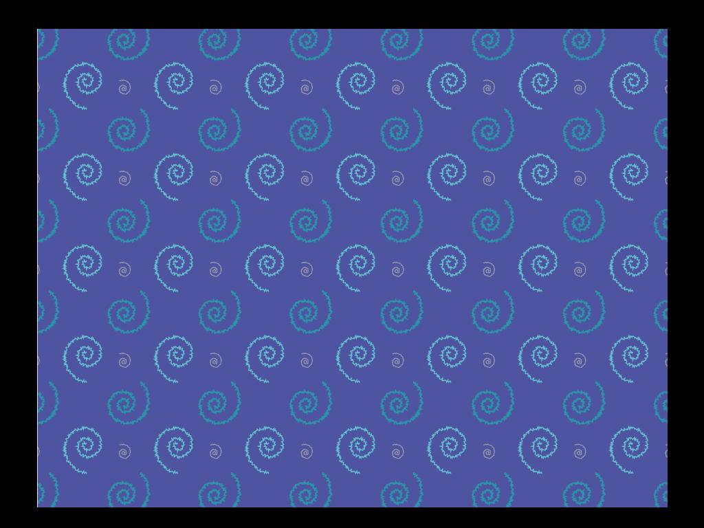 Muster Strudel blau - verworrene Träume