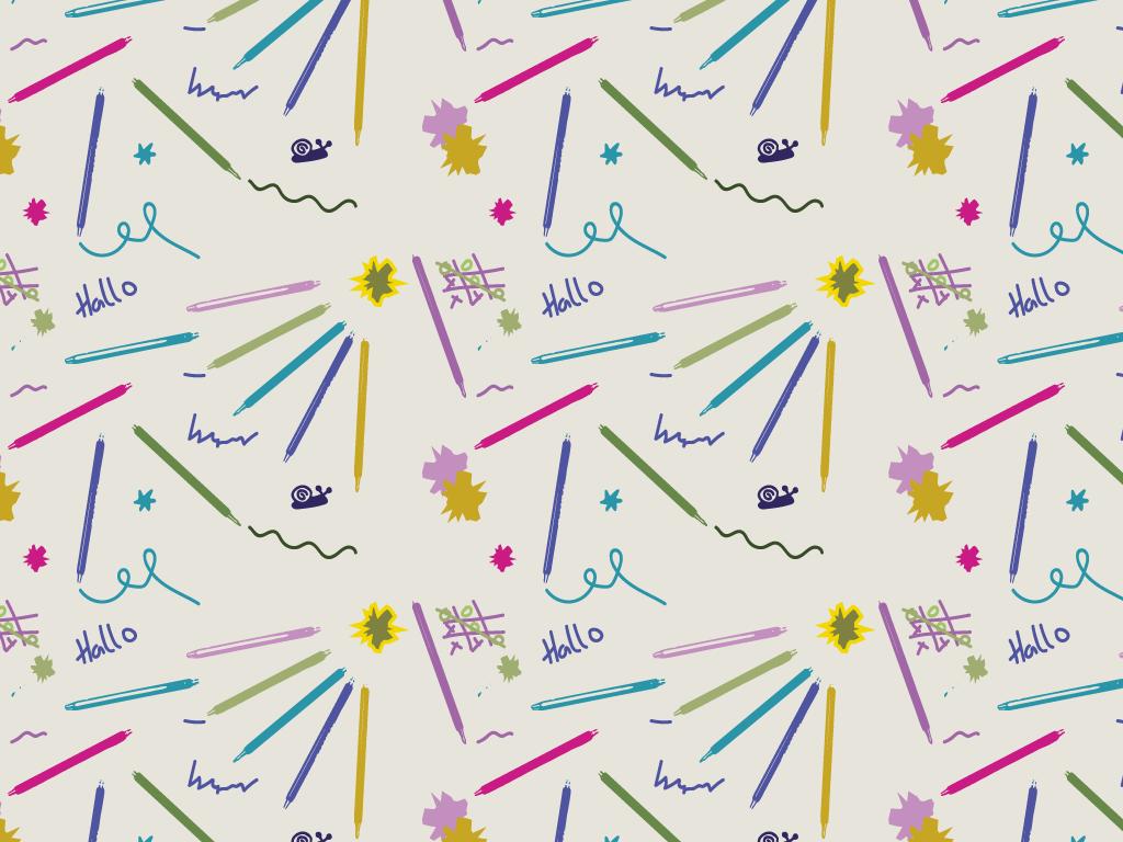 Muster Welcher Stift
