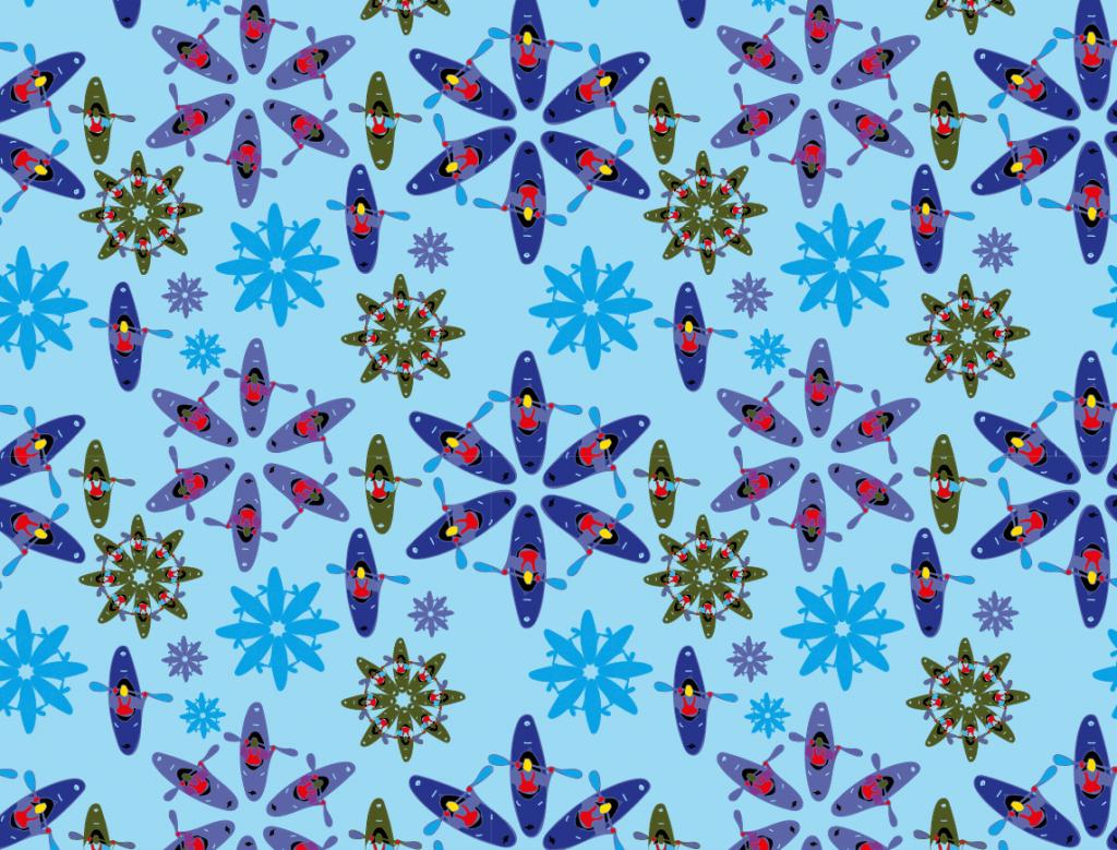 Paddlerträume kaleidoskop