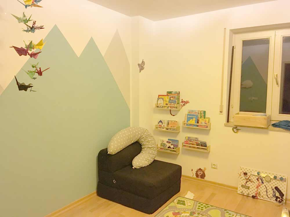 Kinderzimmergestatlung nachher