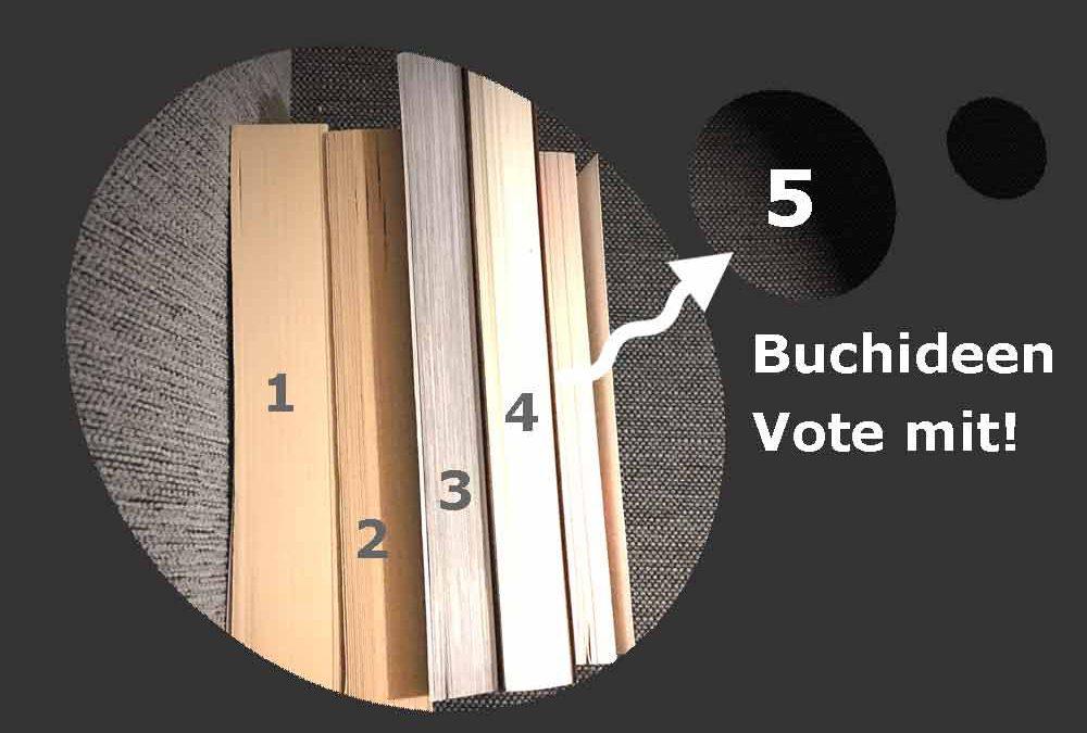 5 Buchideen Voting Buchprojekt