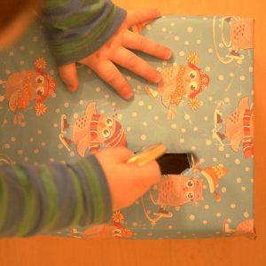 Spielkarton Steckkiste