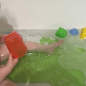 Umfüllen Badewanne