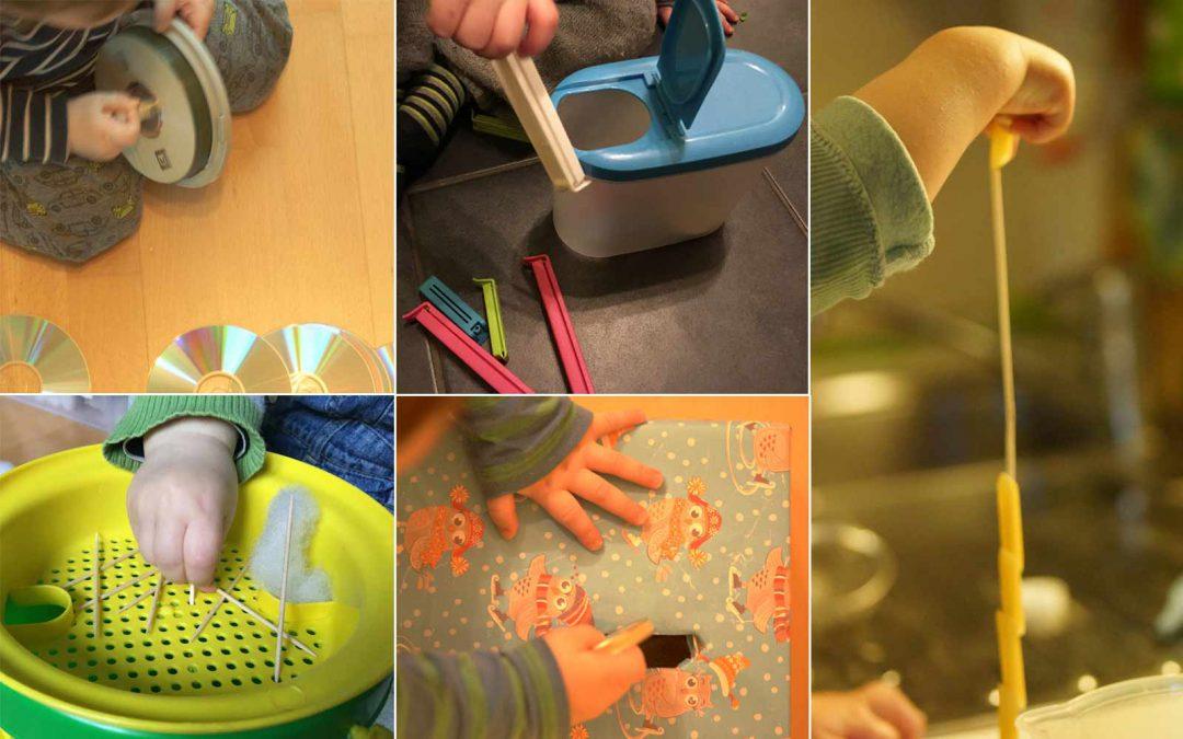 Steckspiele für Einjährige