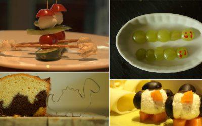 Kreatives Essen für Kinder
