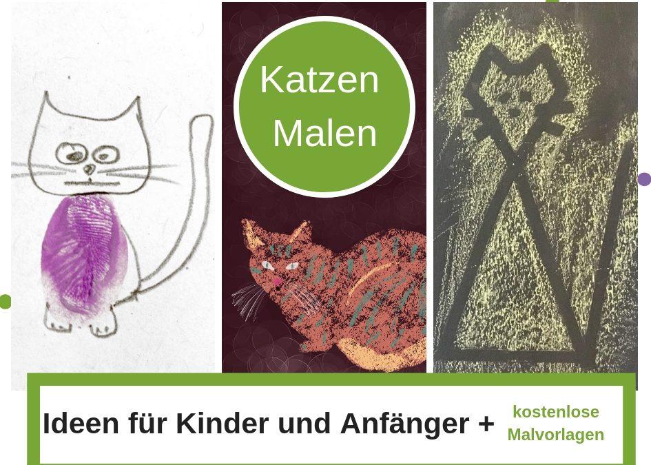 Katzen Malen leicht gemacht – Ideen für Kinder und Anfänger