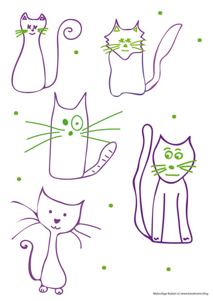 Katze Schnell Zeichnen Lernen How To Draw 15