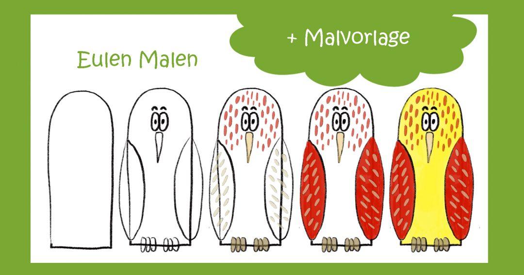 Eule Malen
