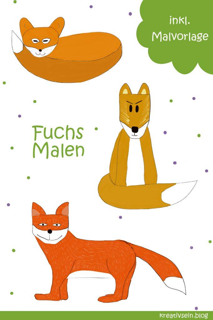Fuchs Malen