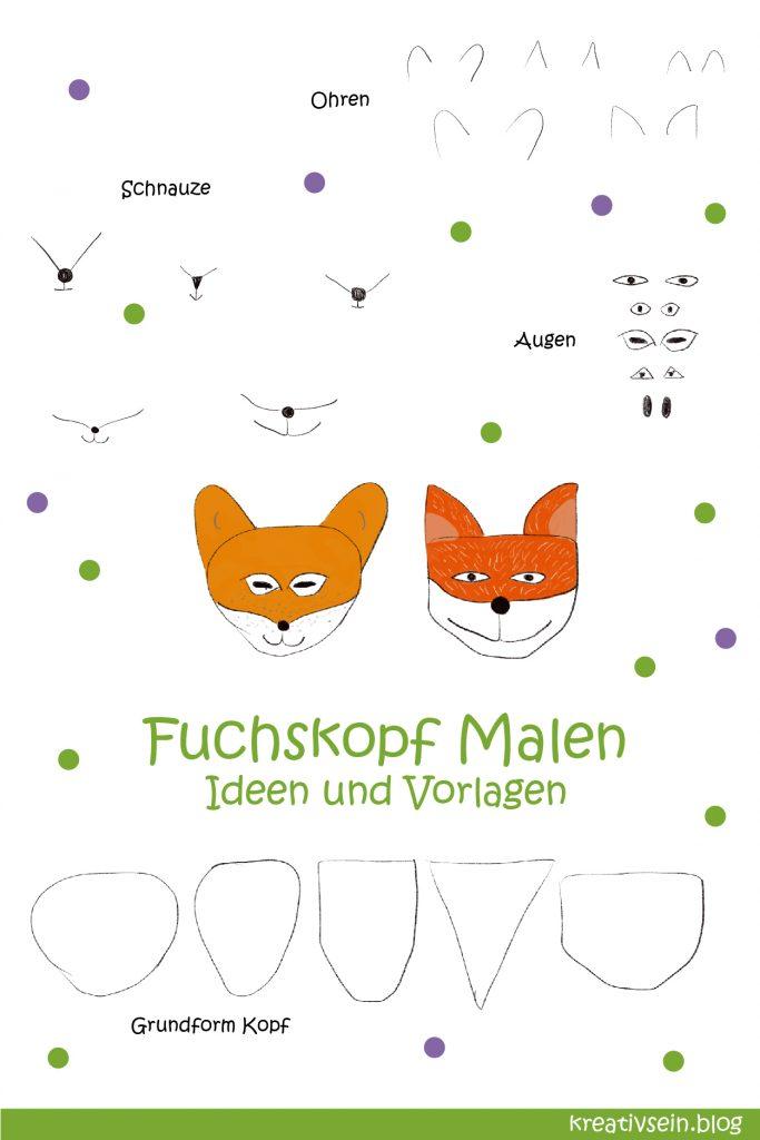 Fuchs Malen Elemente