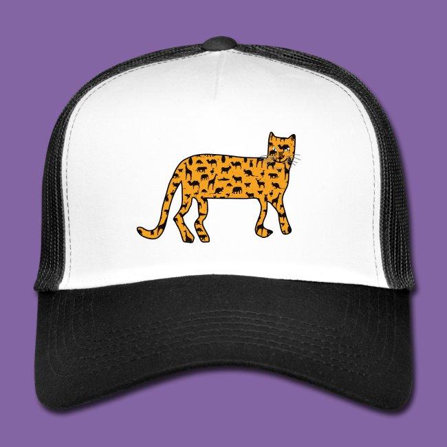 Leopard mit Tiersuchspiel
