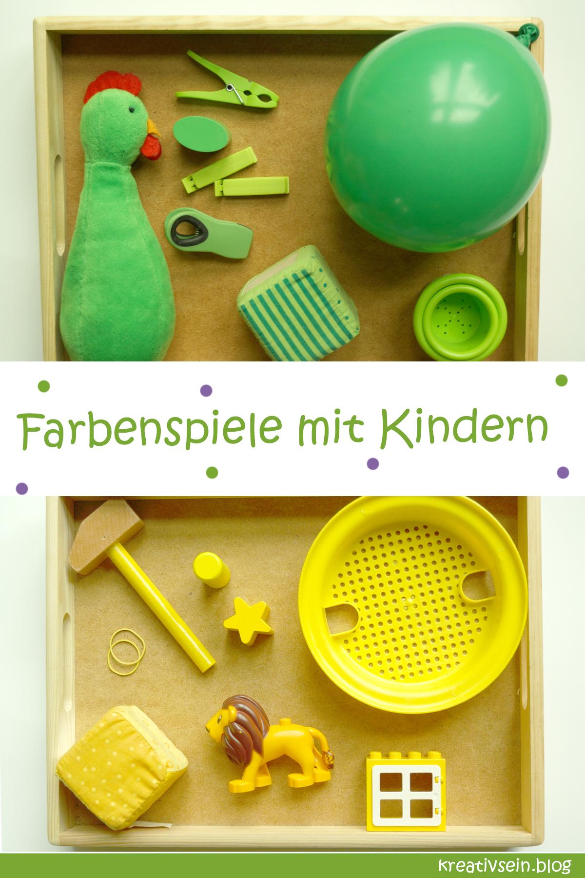 Farben Lernen Spiel - Farben suchen