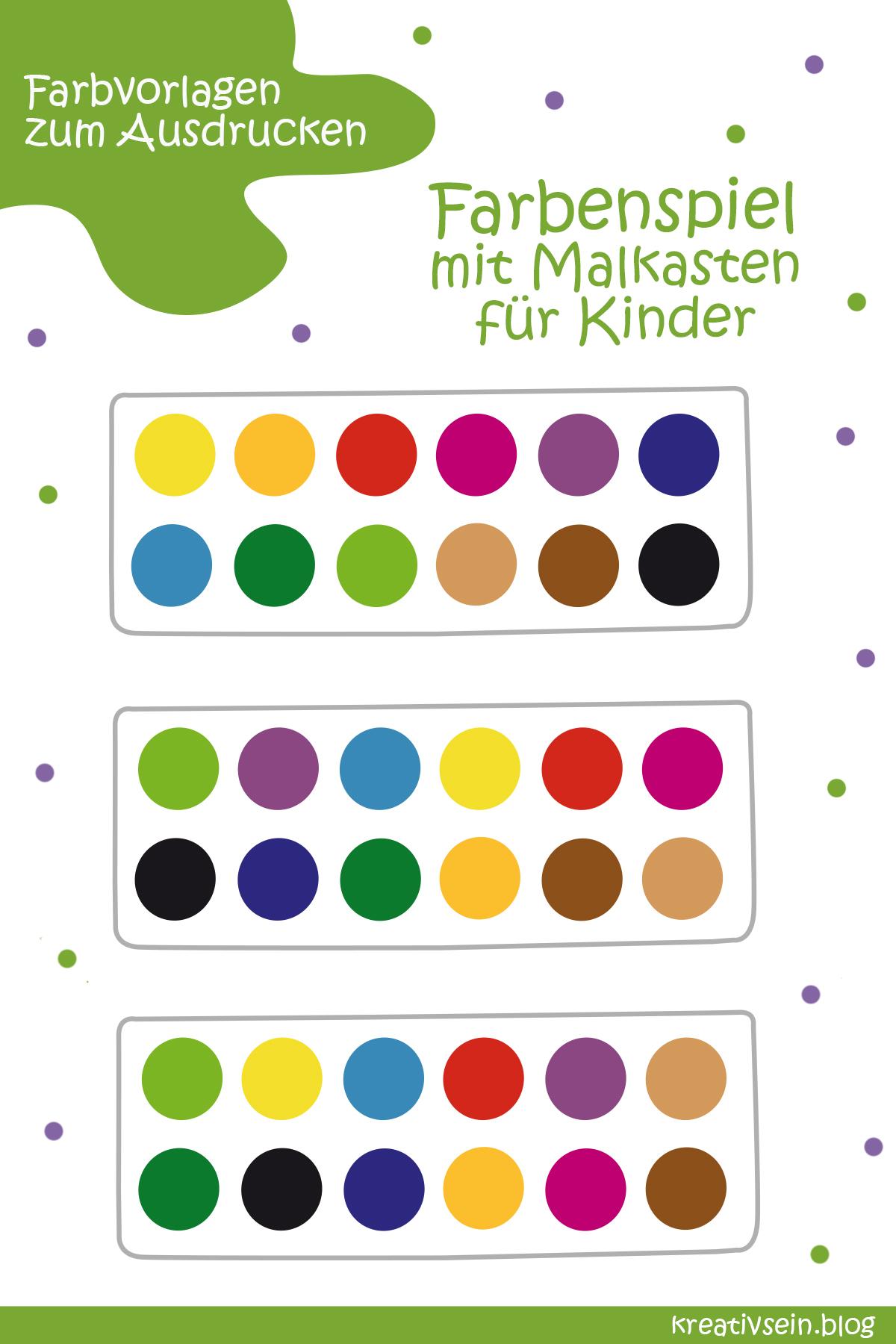 Farben Lernen Spiel