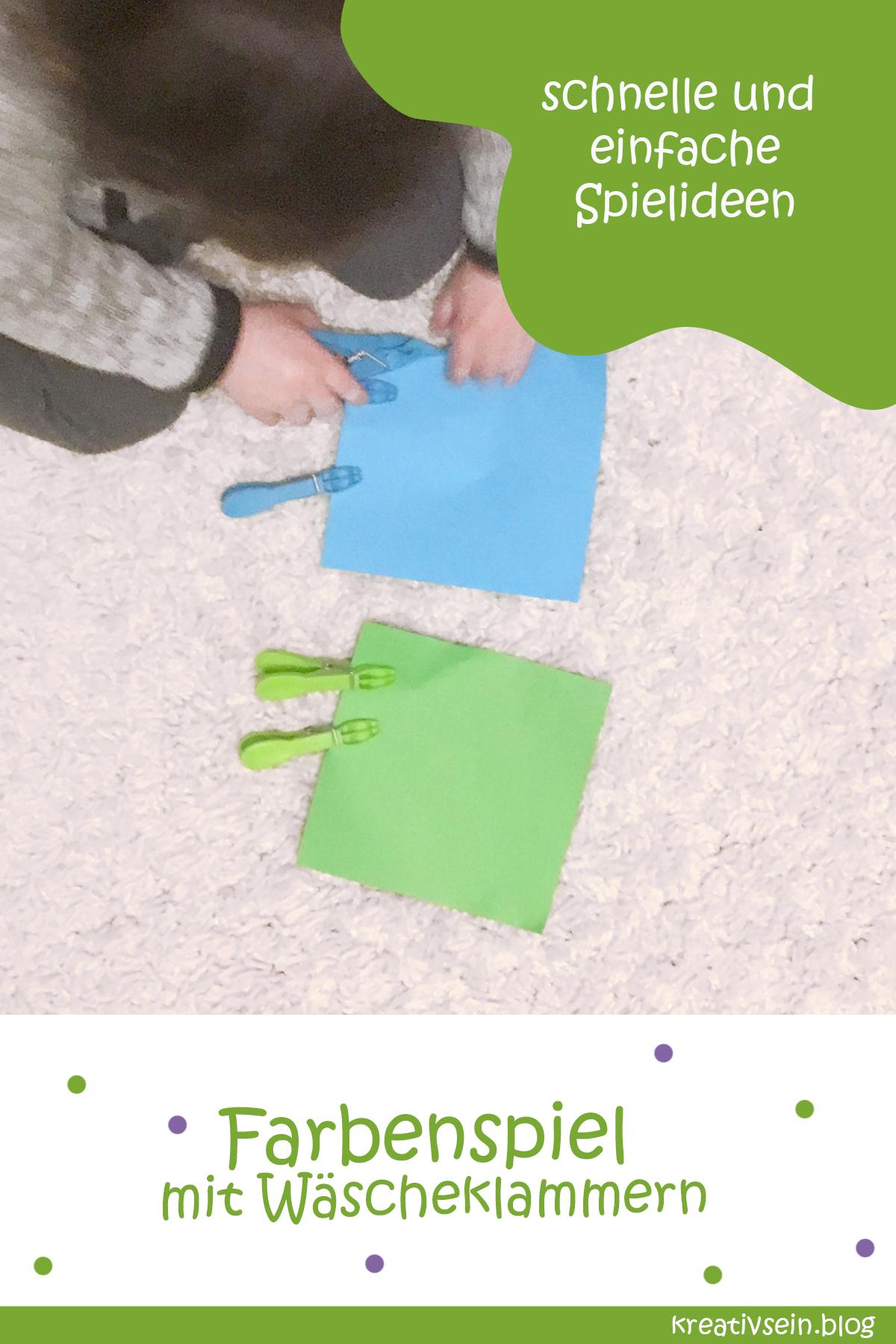 Farben lernen Spiel - Kombi