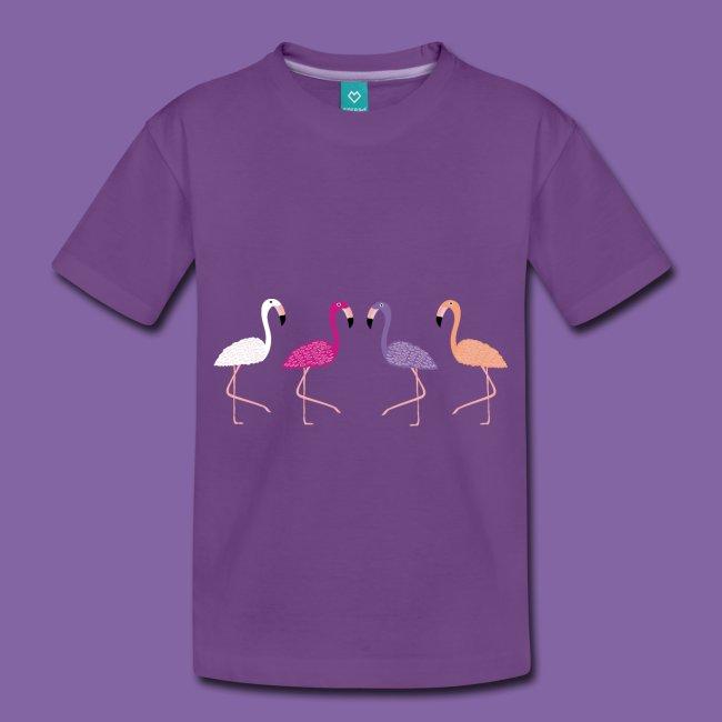 Flamingo und Farben Lernen Design von Sabandraba