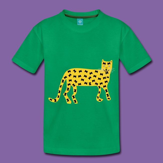 Leoparden mit Schmetterlingsmuster
