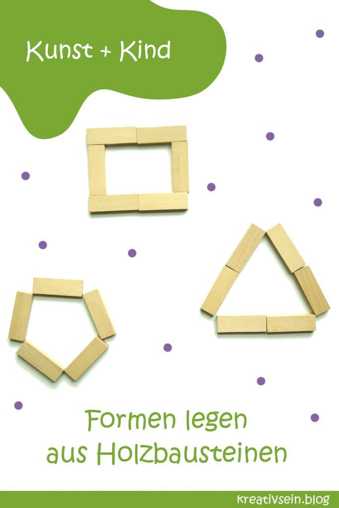 Legebilder Holzbausteine Formen