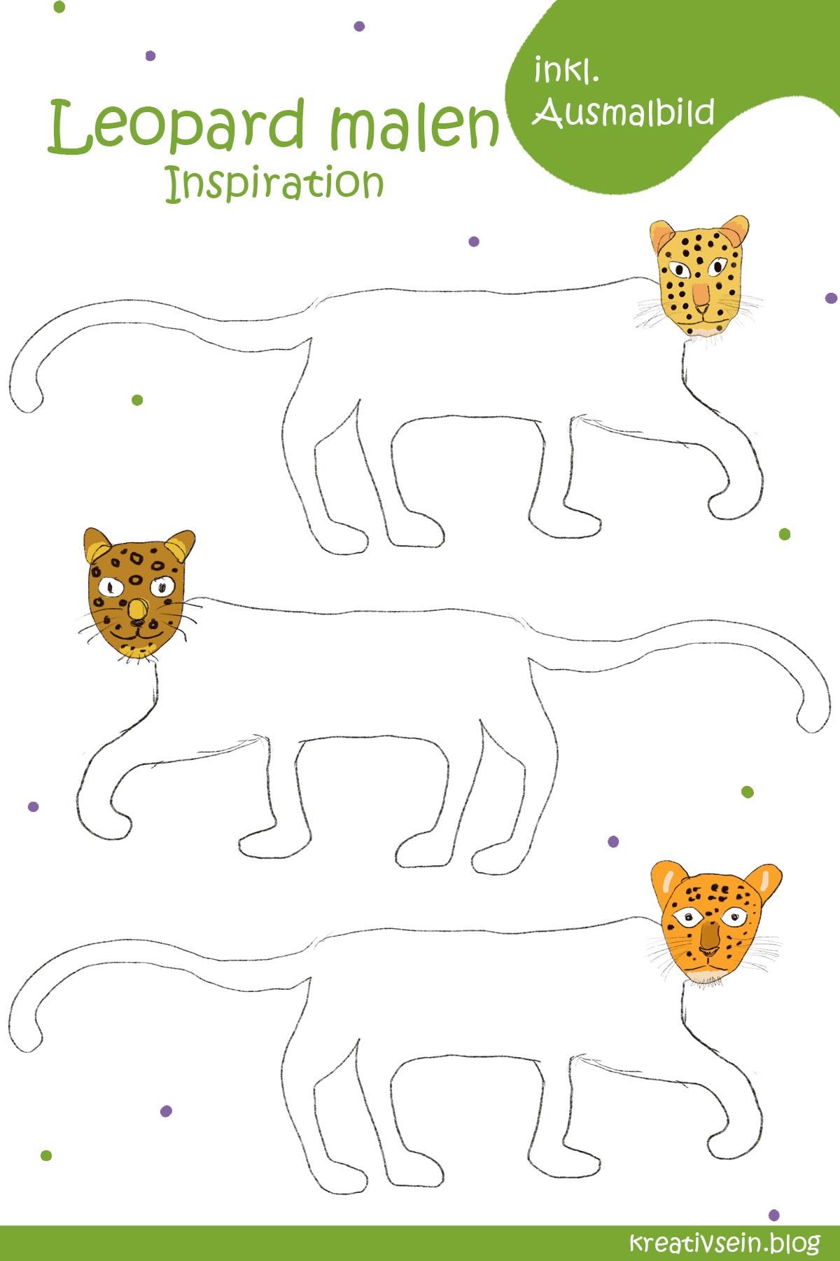 Leopard Malen Inspiration