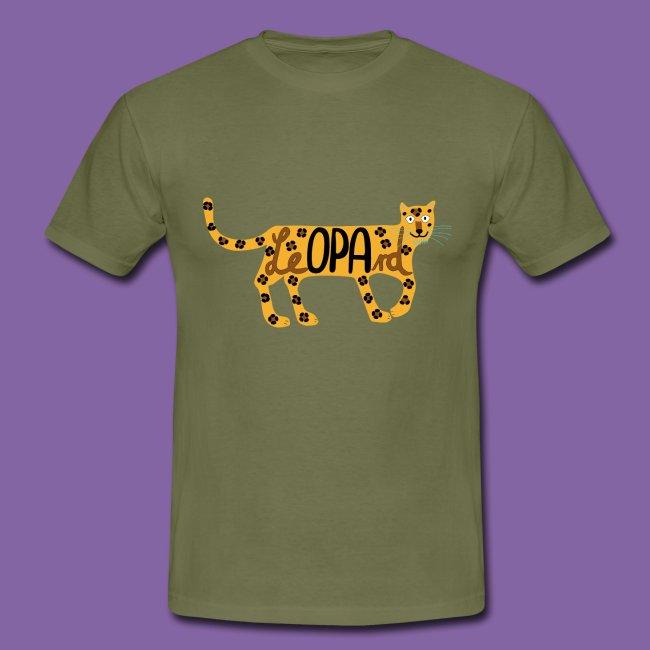 Wortspiel Leopard für Opa