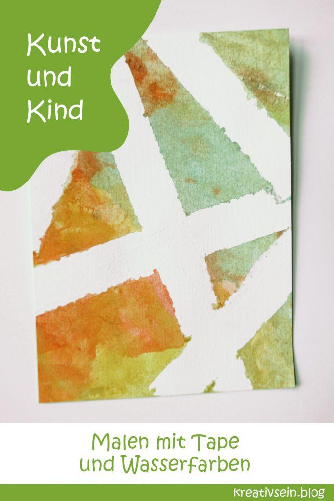 Karten Malen - Kunst und Kind