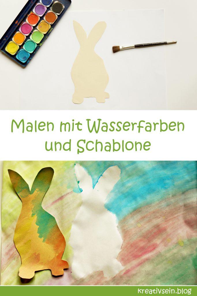 Malen mit Kindern und Wasserfarben