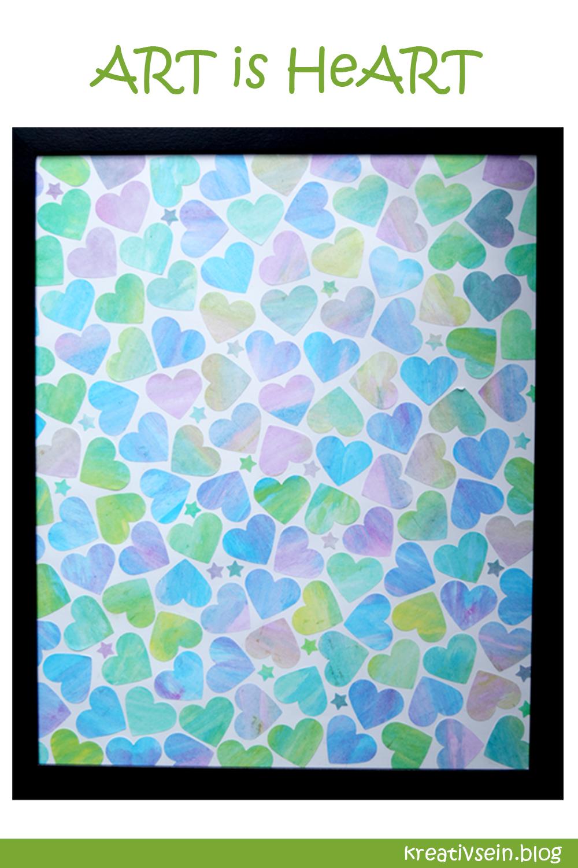 Kunstvolle Idee Zum Malen Mit Wasserfarben Und Kindern Kreativsein Blog