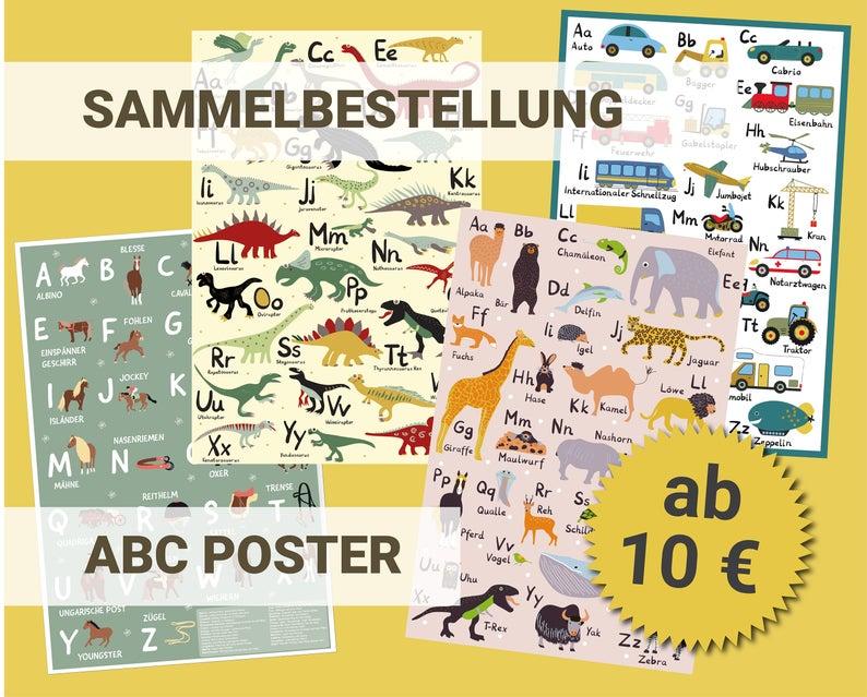 ABC Poster Sammelbestellung